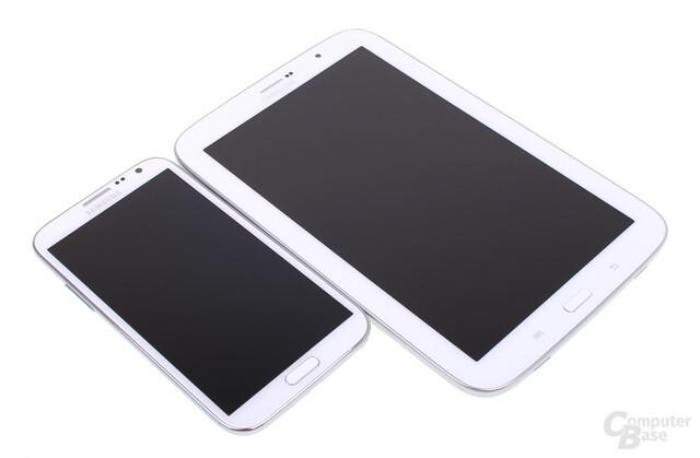 Samsung Galaxy Note II & Note 8.0