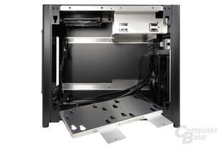 Lian Li PC-Q28 - Unterer Festplattenkäfig ausgebaut