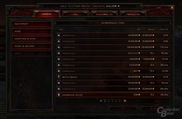 Sorgt weiter für Unmut: Auktionshaus in Diablo 3