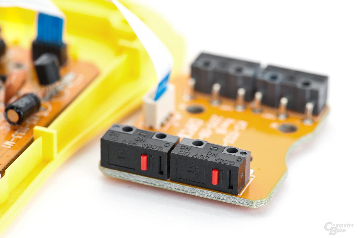 Schalter-Platine für die Navigationstasten