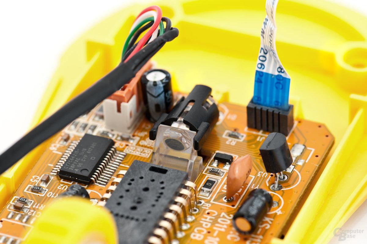 LED-System der optischen Untergrundabtastung