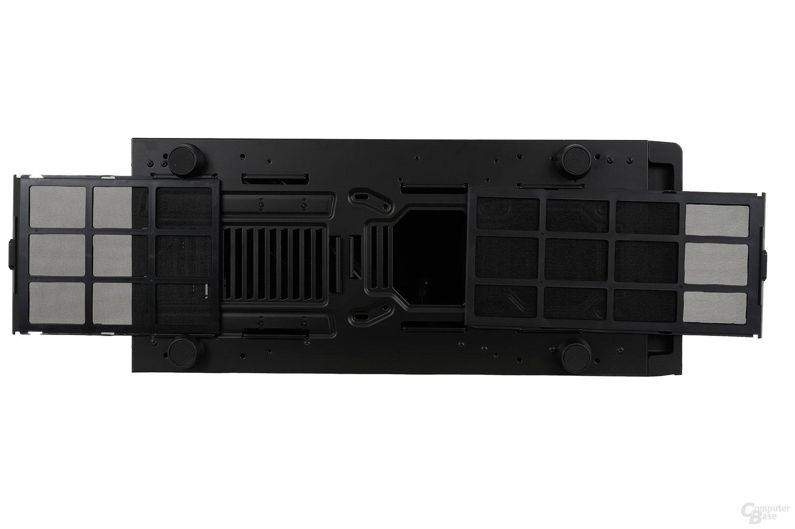 NZXT H630 - Staubfilter ausbauen