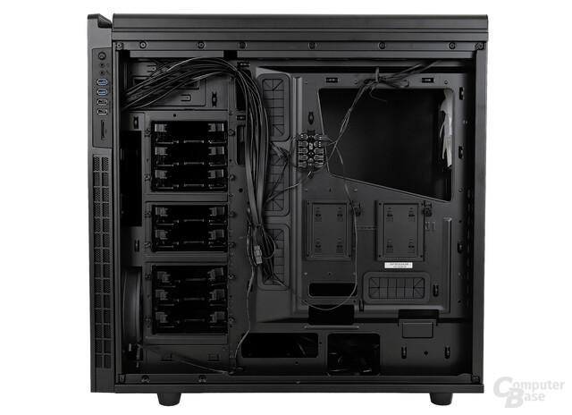 NZXT H630 - Innenraumansicht hinten