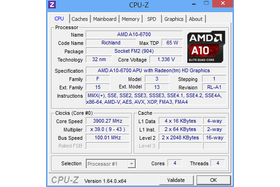 AMD A10-6700 im Turbo