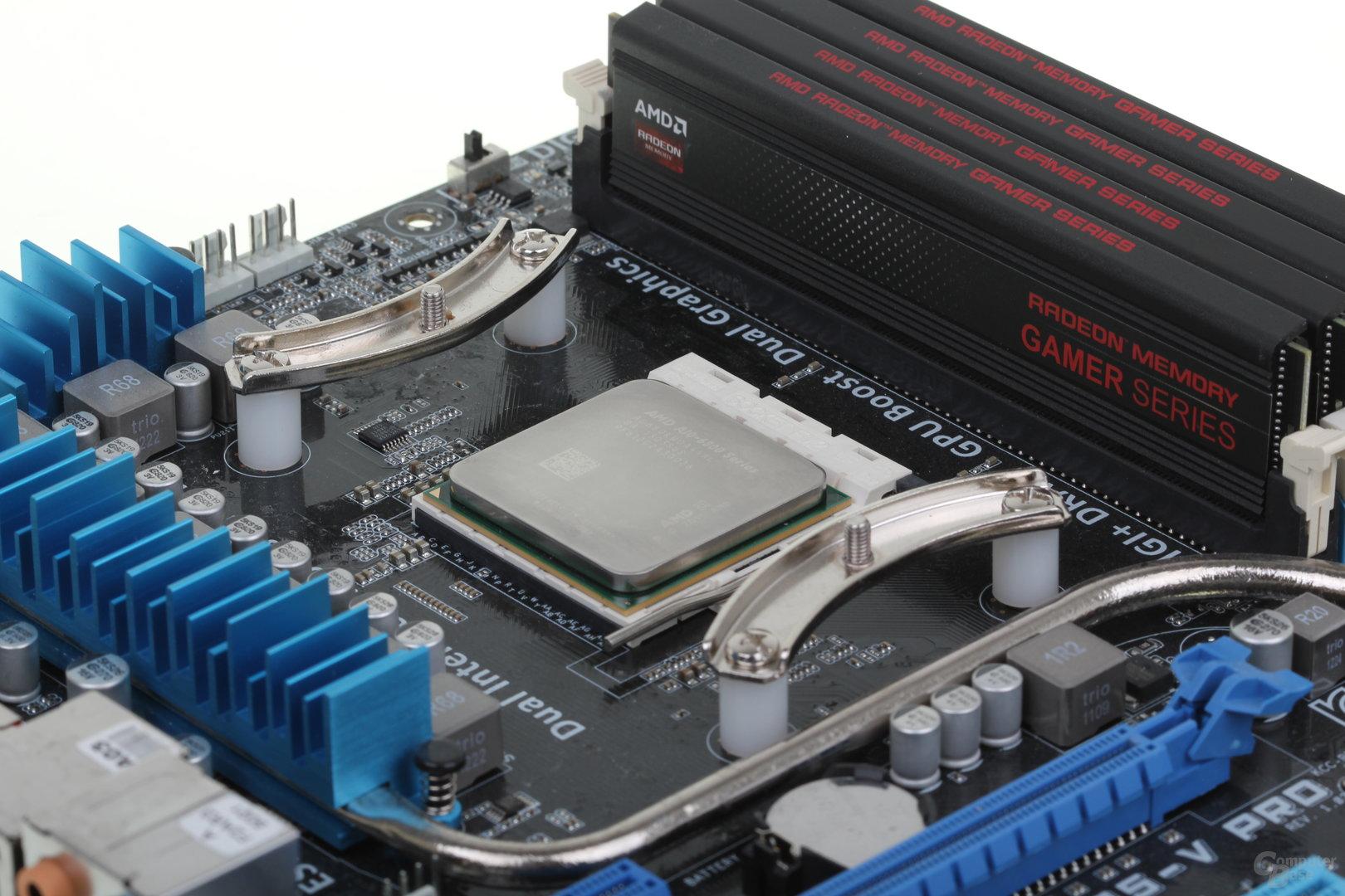 """AMD A10-6800K """"Richland"""" mit DDR3-2133"""