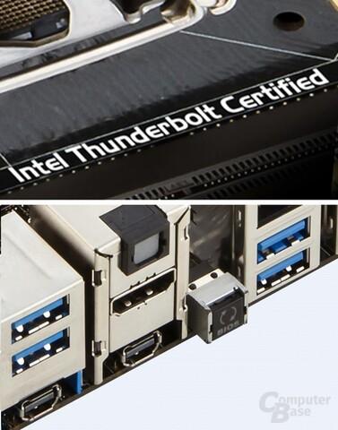 ROG-Boards auch mit Thunderbolt