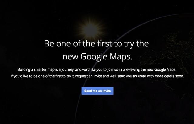 Google Maps Einladung