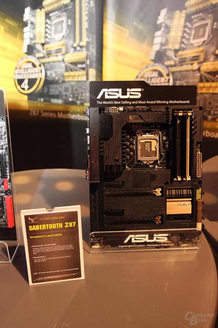 Asus Sabertooth Z87 und Gryphon Z87