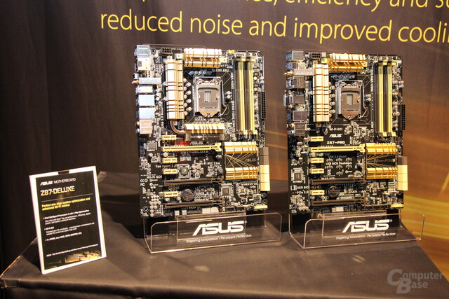 "Asus' Z87-Mainboards für Intels ""Haswell"""