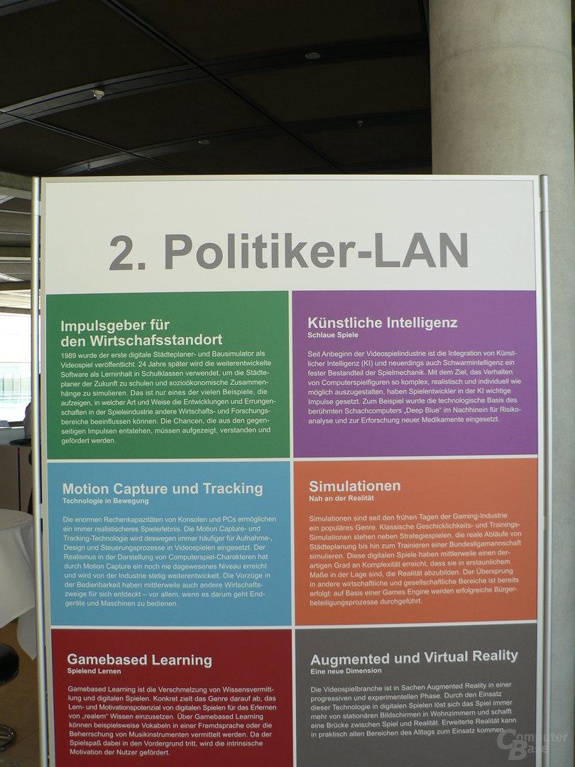 Eindrücke von der 2. Politiker-LAN im Bundestag