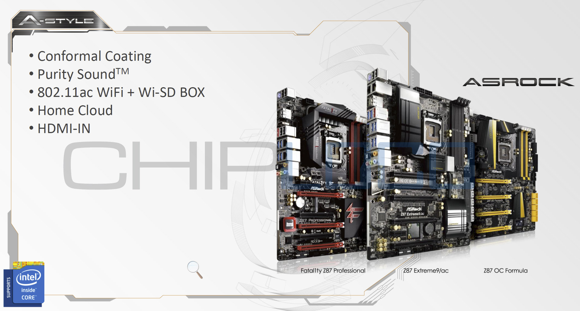 """ASRock-Mainboards für Intels """"Haswell"""""""
