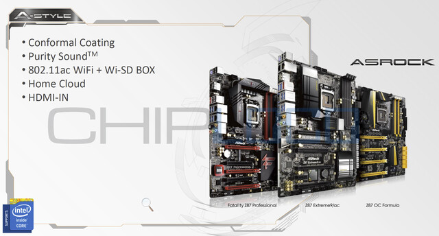 "ASRock-Mainboards für Intels ""Haswell"""