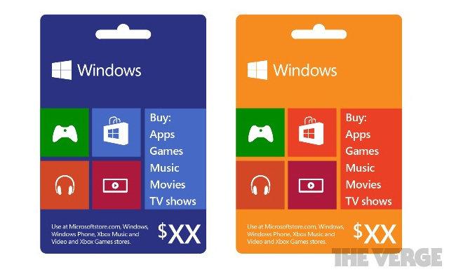 Microsoft-Guthabenkarte