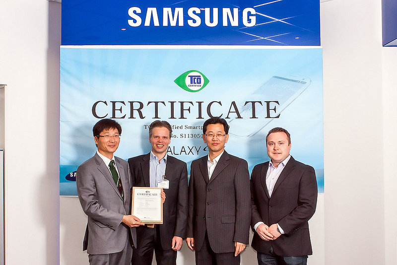 Samsungs Galaxy S4 wird TCO Certified Smartphone