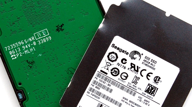 Seagate 600 SSD 480 GB im Test: Die erste SSD vom Festplattenhersteller