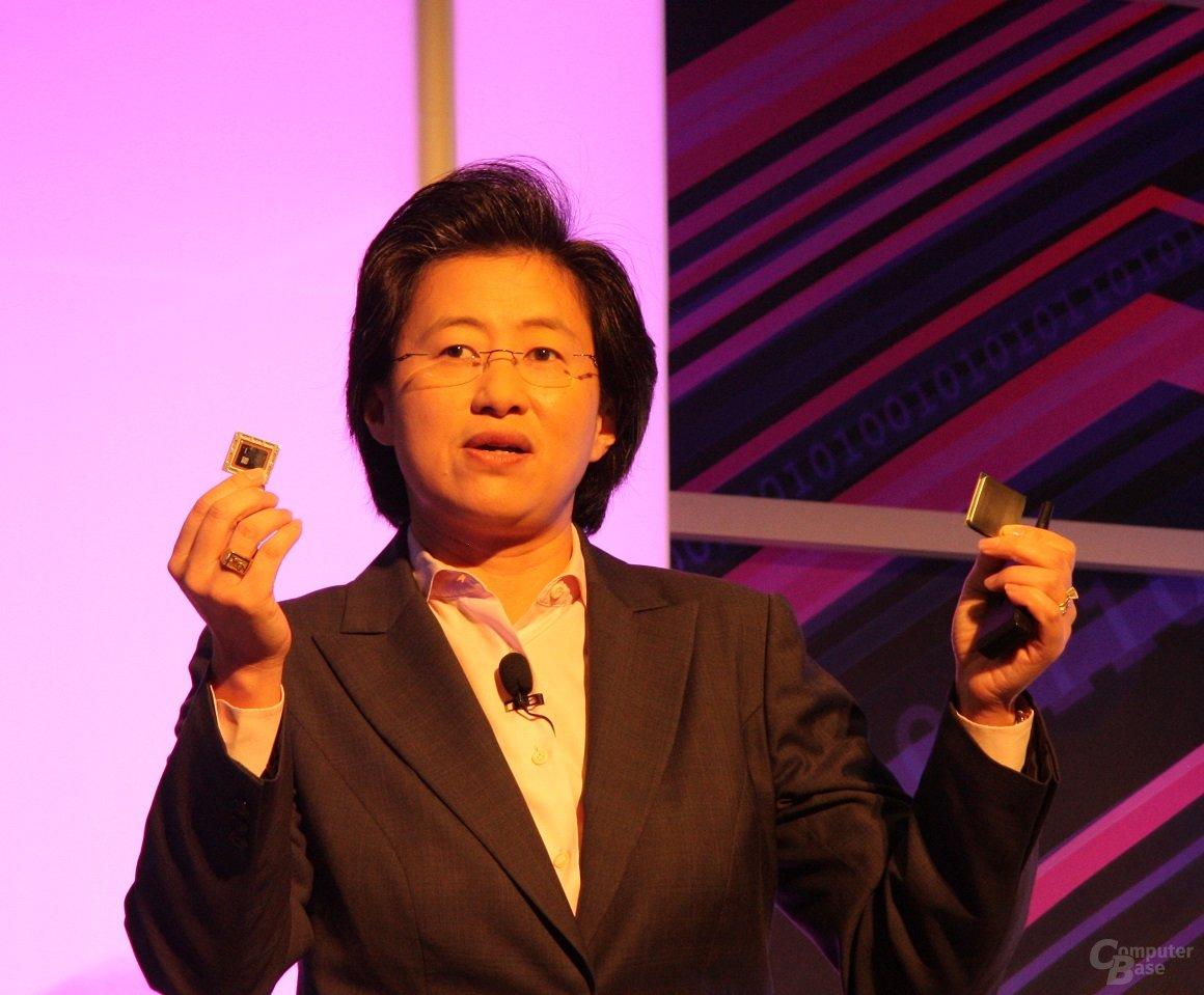 "AMDs Lisa Su zeigt ""Kaveri"""