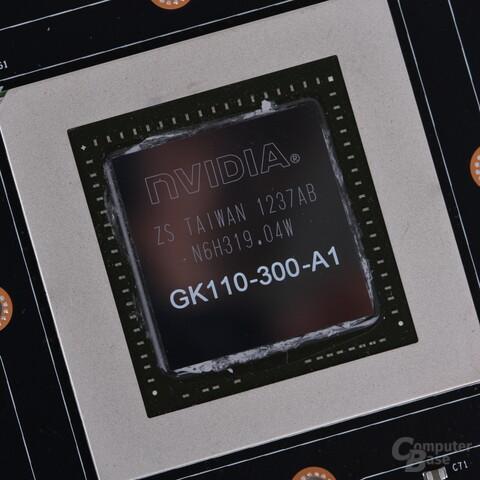 GK110-Chip auf der GeForce GTX 780