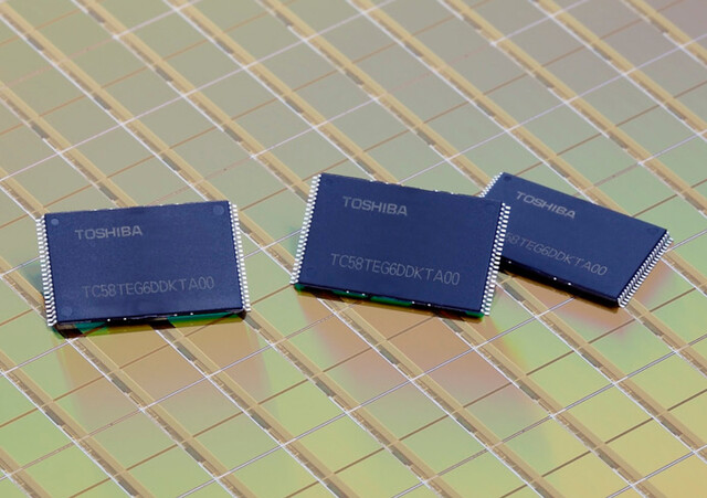Toshibas 19-nm-NAND-Flash der 2. Generation