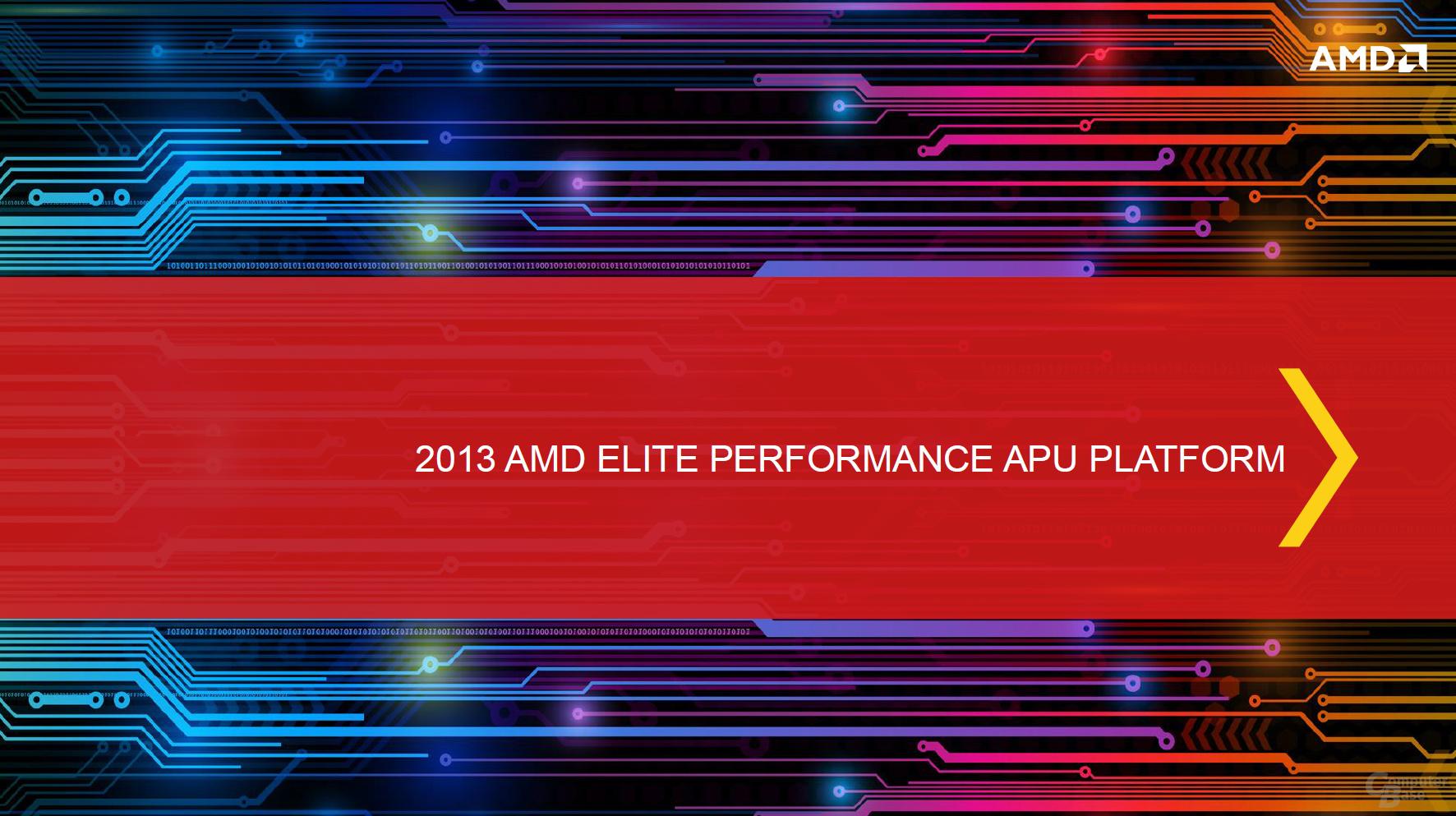 """AMDs """"Richland"""" für Notebooks"""