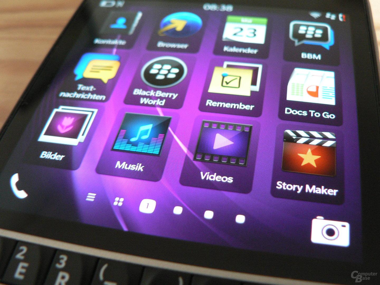 BlackBerry Q10 - Display