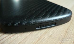 BlackBerry Q10 (Unterseite)