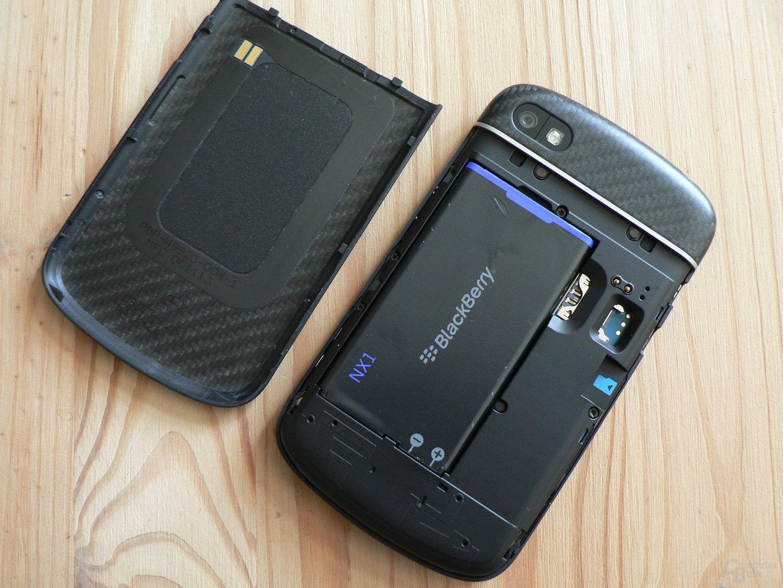 BlackBerry Q10 - Geöffnete Schale