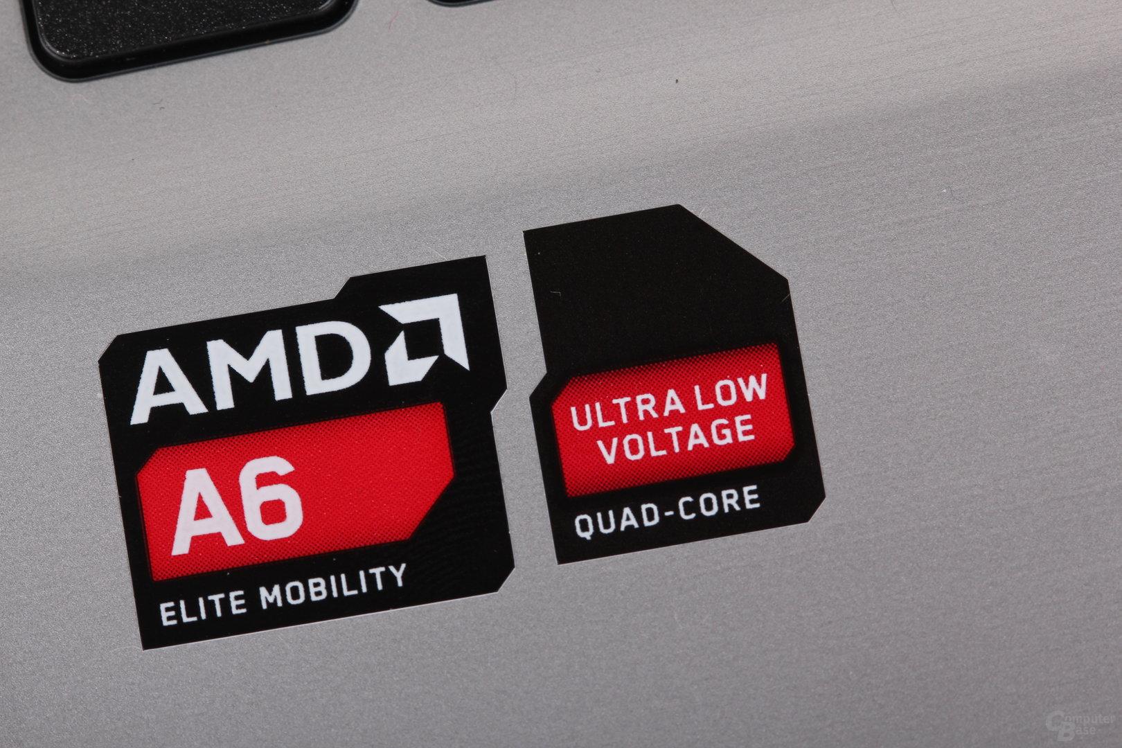 Acer Asprice V5 mit AMD A6-1450