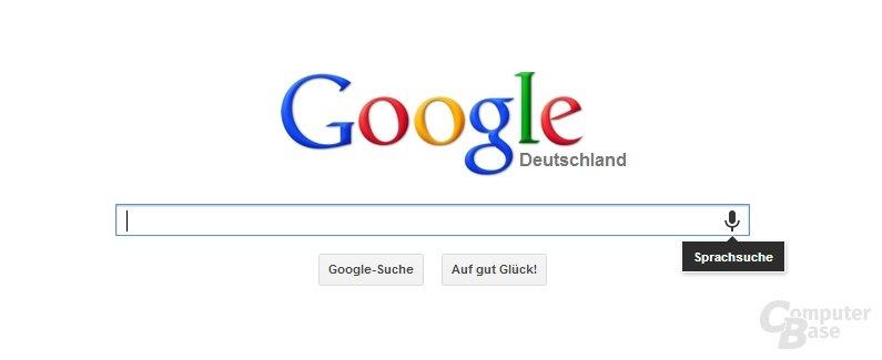Sprachsuche von Google