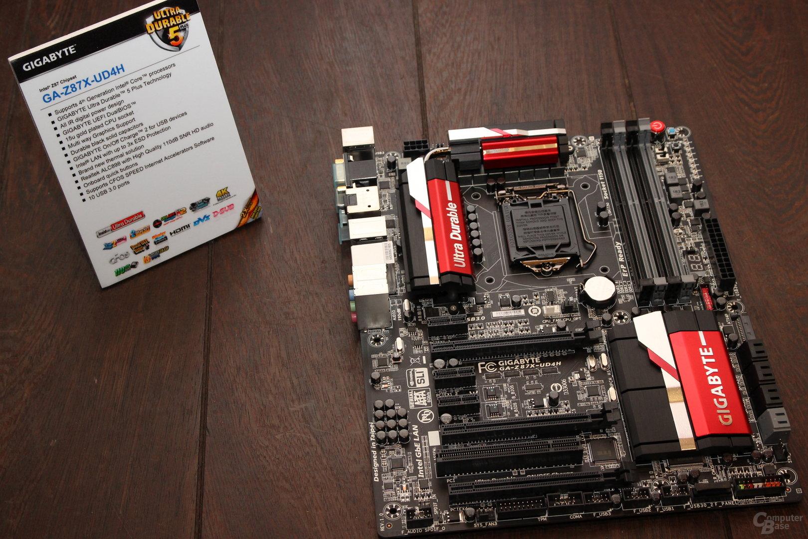 """Gigabyte GA-Z87X-UD4H mit """"unbekanntem"""" Chipsatz"""