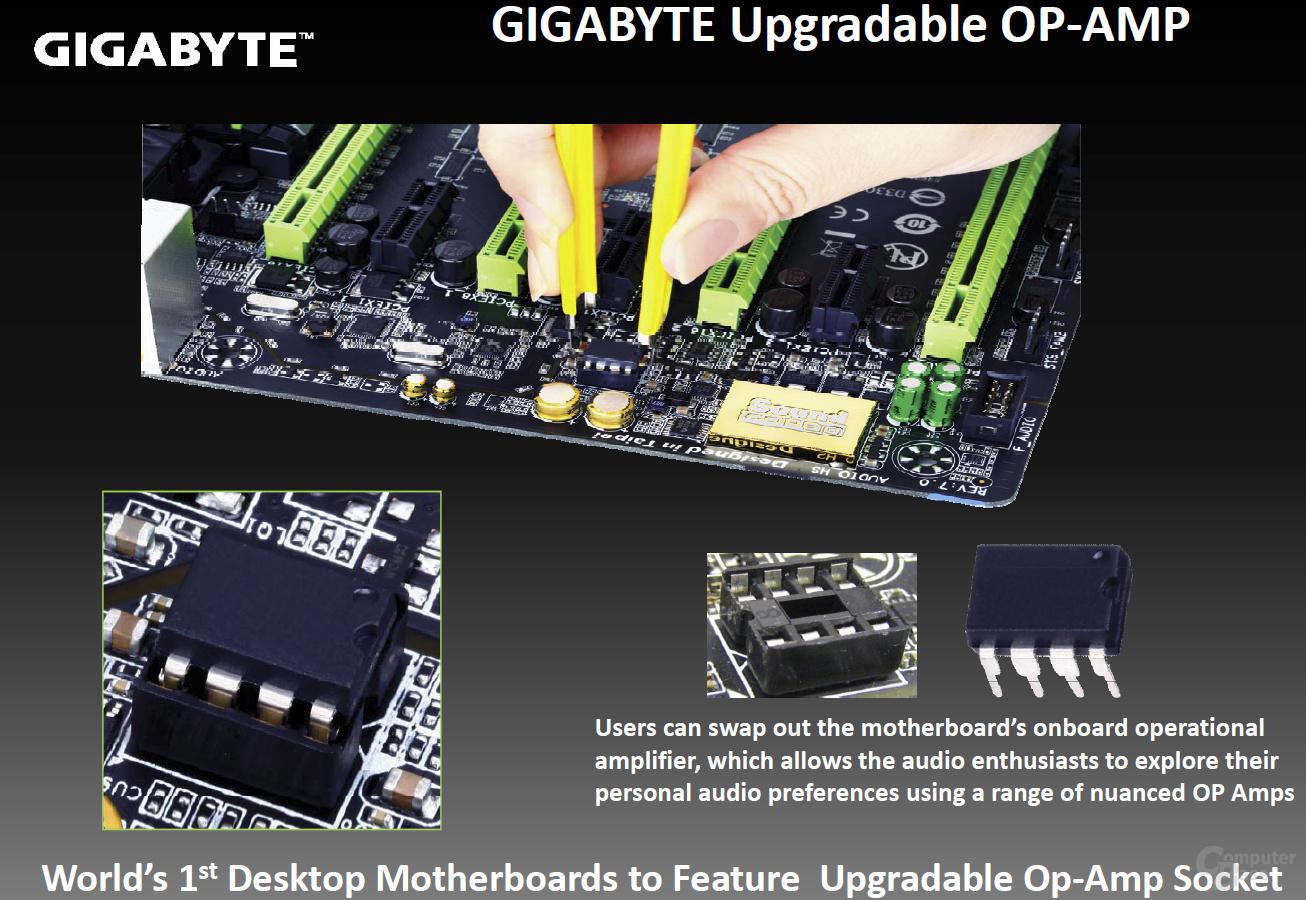 Amplifier-Chip wechseln bei Gigabytes G1-Sniper 5