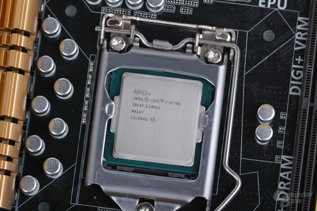 Intel Haswell-CPU mit HD Graphics 4600