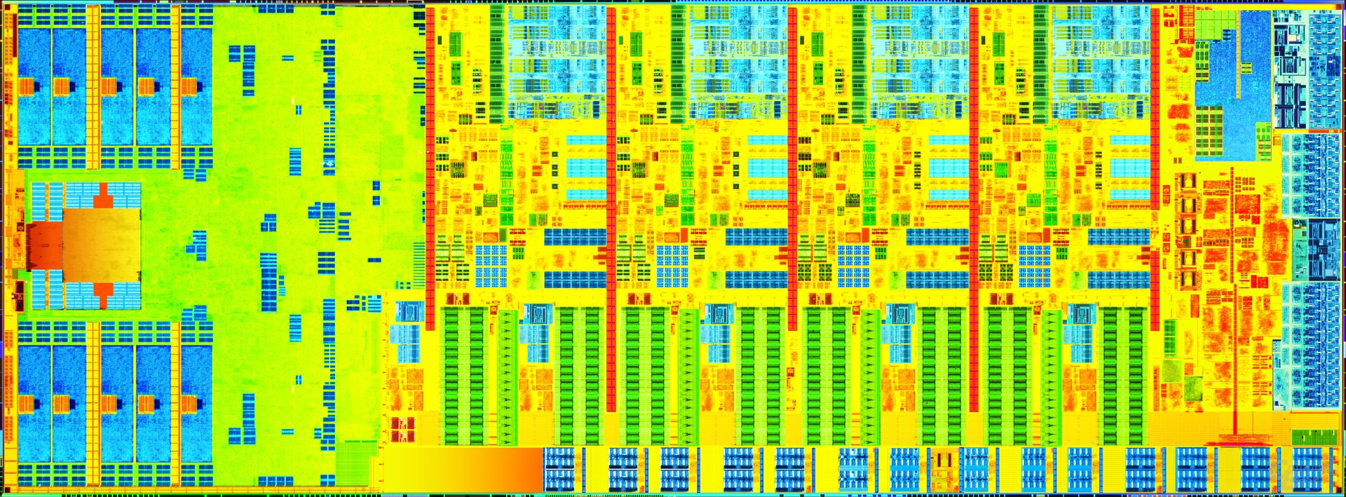 """Intel """"Haswell"""" mit vier Kernen und GT2-Grafik (links)"""