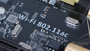 WLAN 802.11ac auf dem Asus Z87-Deluxe