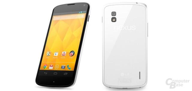 LG Nexus 4 in Weiß