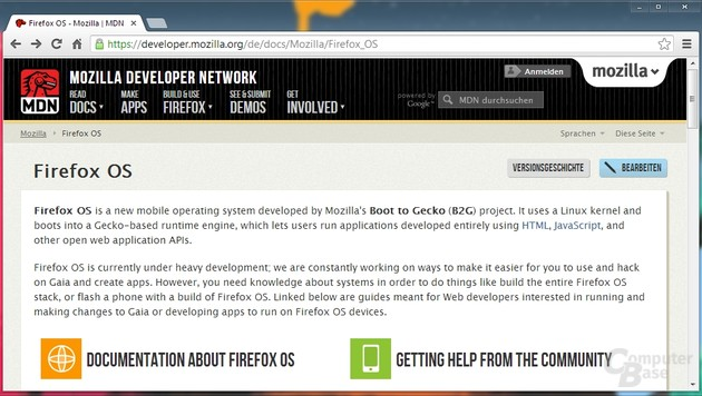 Mozilla Developer Network