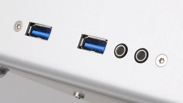 Lian Li TU100: Kleingehäuse im Koffer-Design mit Tragegriff