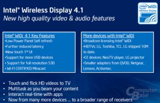 Intel Wireless Display (WiDi) 4.1
