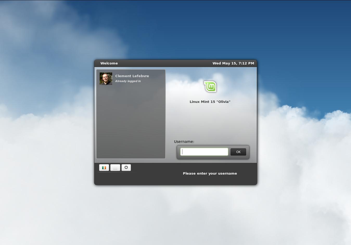 Mint MDM HTML5-Greeter