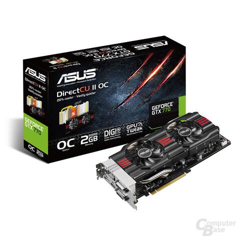 Asus GeForce GTX 770 Direct CU II D2CO