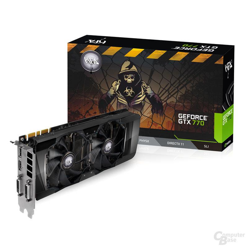 Kfa2 GeForce GTX 770 EX OC