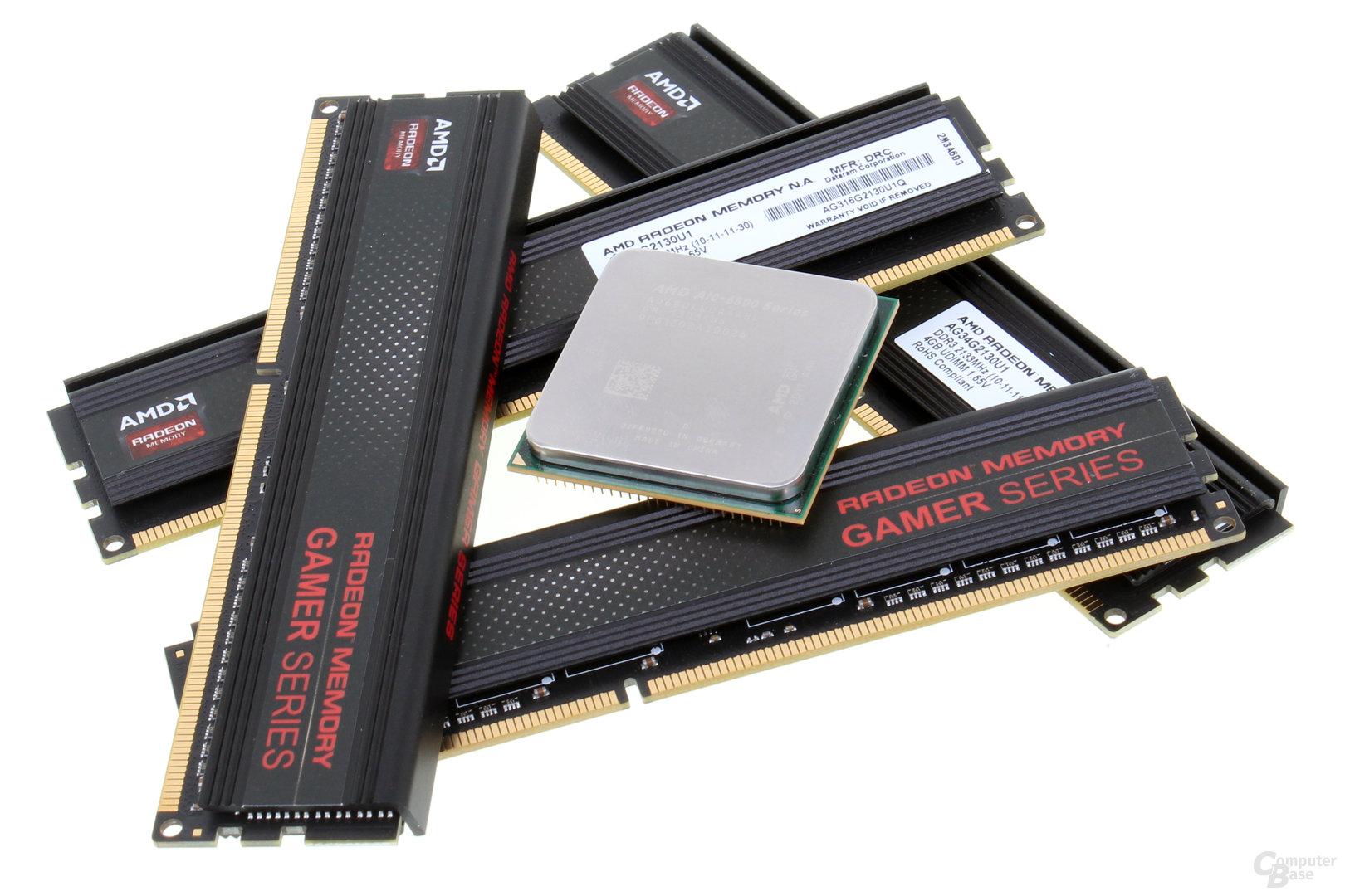AMD A10-6800K mit DDR3-2.133
