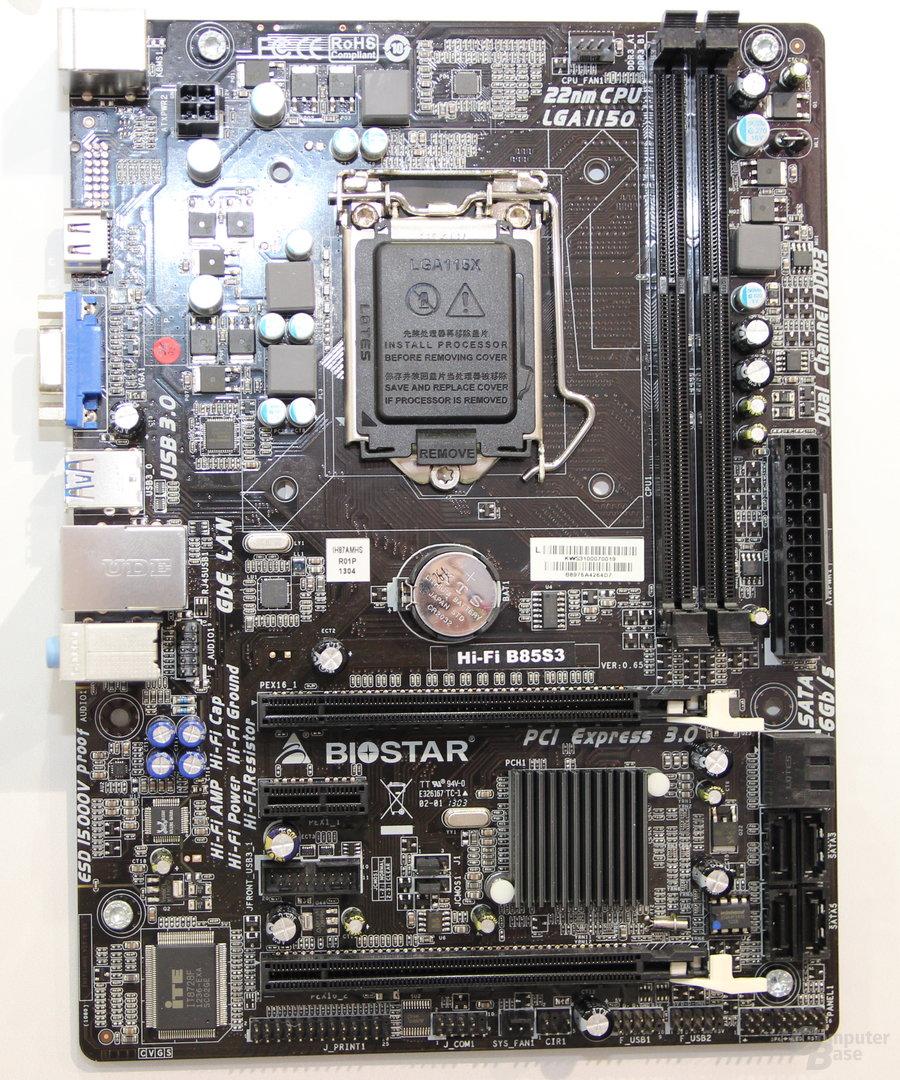 Biostar B85S3 (CeBIT)