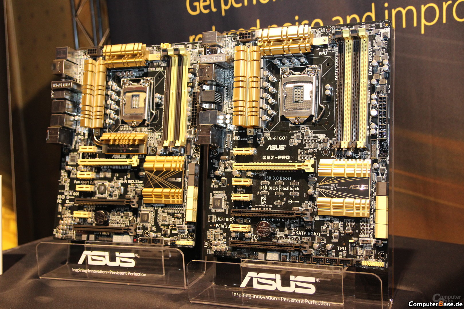 Asus Z87-Deluxe und Z87-Pro
