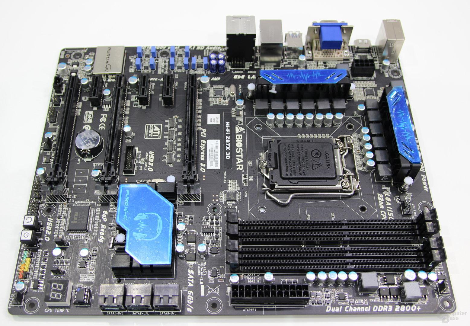 Biostar Hi-Fi Z87X 3D (CeBIT)