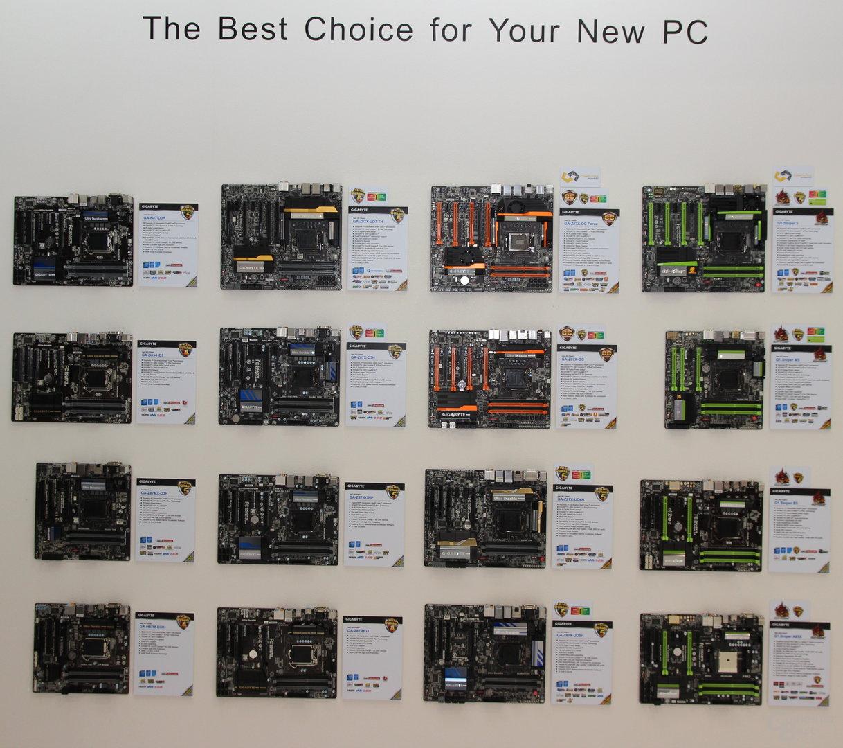 Computex 2013 - Gigabyte-Stand