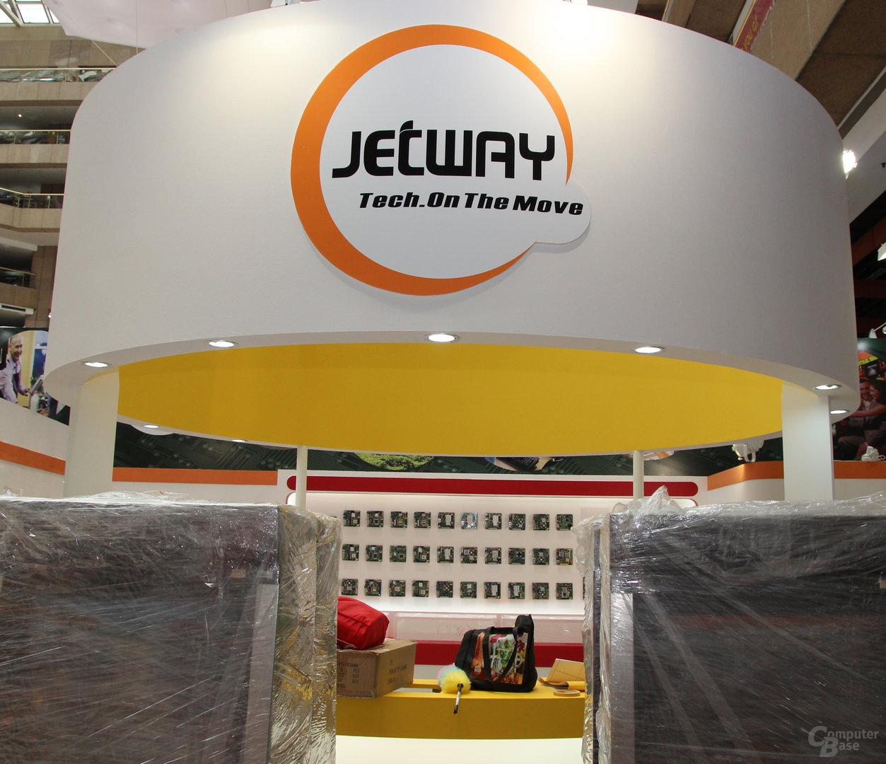 Computex 2013 - Jetway-Stand