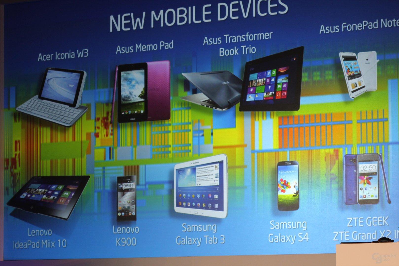 Galaxy Tab 3 mit Intel-SoC