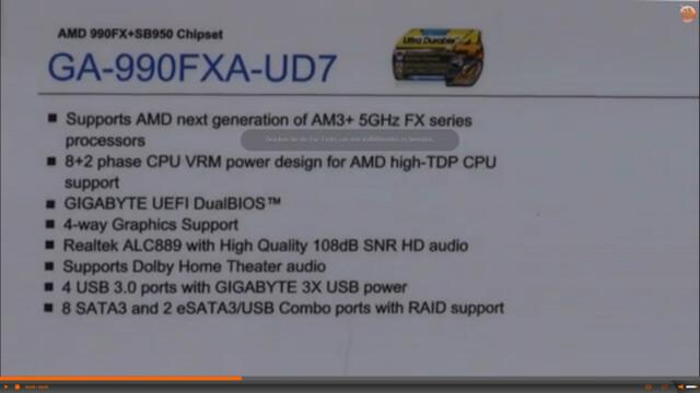 Gigabyte GA-990FXA-UD7 Spezifikationen