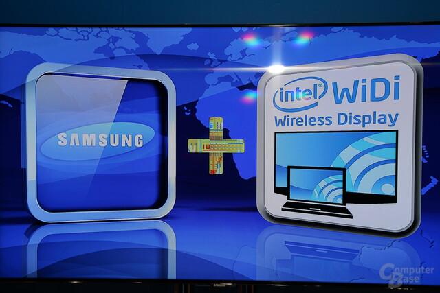 Samsung und Intel treiben WiDi voran