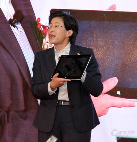 Temash-Tablet von MSI